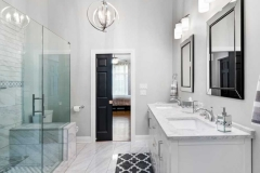 Ruffled Feathers Bathroom Remodel - Lemont, IL